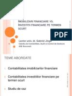 Contabilitatea Imob Finanaciare vs Investitii Fin Pe Termen Scurt