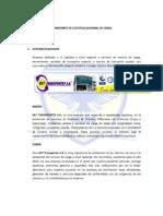Transporte de Logistica Nacional de Carga y