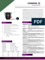 COSMOS II - Product Sheet