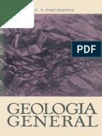 Geologia General - Gorshkov, Yakushova