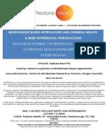 Prestons Mindfulness Gp Invite 2014