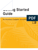 Book Manual Getting Started Guide for Peachtree Complete Accounting 7 0