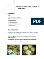 Clatite din cartofi+cascaval
