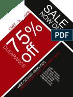 Sale Flyer CMIT - Solution
