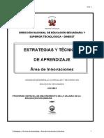 IMP_Estrategias y Técnicas Aprendizaje DINESST