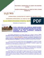 Marruecos Impide Contacto de Los Saharauis Con Juristas Internacionales -10112009