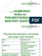 NursingBulletin Notes on Pneumothorax