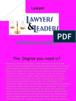 lawyer research project