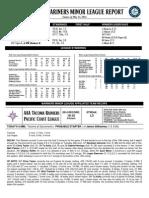 05.14.14 Mariners Minor League Report