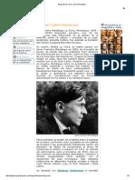 Biografia de José Carlos Mariátegui