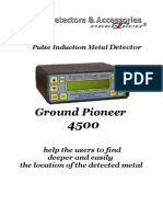 Ground Pioneer 4500 -English