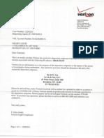 David Lin Verizon Subpoena