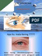 Penyuluhan Dry Eye Syndrome