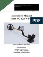 Vista RG1000- English
