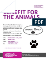 Chinatown YMCA Benefit for Animals