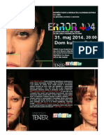 ERROR 404Bistriški Teater in Srednja Šola Slovenska Bistrica - petek 31. maj 2014  v Dom kulture Pekre