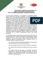 Requirimientos Para Solicitud de Licencias Loteria Del Tachira