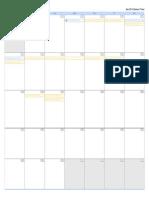 reconstruction unit calendar