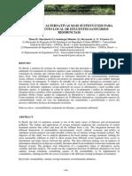 Análise de Alternativas Mais Sustentáveis Para Tratamento Local de Efluentes Sanitários