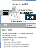 20351918 Introduction to LabVIEW 8 in 6 Hours
