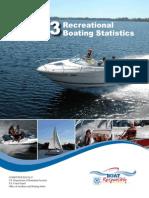 2013 Recreational Boating Statistics