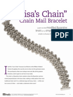 Lisa Chain Mail Bracelet