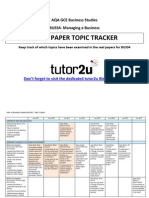 Buss 4 Topic Tracker