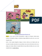 Chico Bento Variacoes Linguisticas