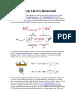 Energía Cinética Rotacional