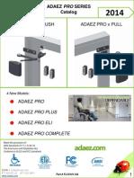 ADAEZ PRO 2014 Full Line Catalog