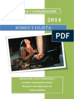 Romeo y Julieta Por Renzo Huaranga