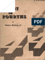 A Study in Fourths Walter Bishop Jr.