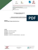 Documentatie Pentru Prestarea Serviciilor de CONSILIERE