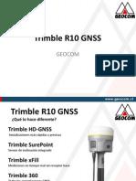 Geocom Trimble R10 GNSS