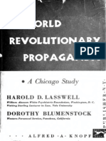28231115 Lasswell World Revolutionary Propaganda a Chicago Study 1939