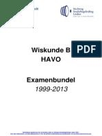 Examenbundel Compleet HAVO Wiskunde B