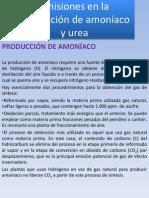 Emisiones en La Produccion de Amoniaco y Urea