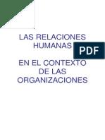 LAS Escuelas Del Comportamiento Organizacional Sl
