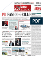 Il Fatto Quotidiano - 14.05.2014
