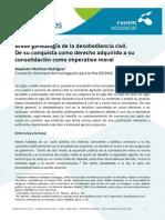 Breve Genealogia Desobediencia Civil a MARTINEZ RODRIGUEZ Libre