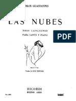 Guastavino - Canc - Las Nubes