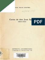 Cartas de Don Juan Egaña. 1832-1833.