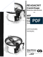 Manual Microcentrifuga