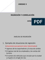 Regresión y Correlación