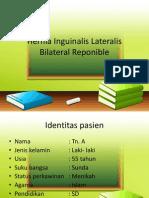 Hernia Inguinalis Lateralis Bilateral Reponible