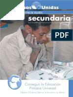 MAnos Unidas ODMSecundaria