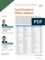 1q 2014 sf tech office report