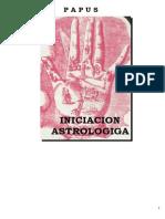 iniciacion astrologica