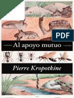 Pierre Kropotkine - Al Apoyo Mutuo