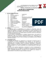 Sistemas Estructurales(a) 2012-1